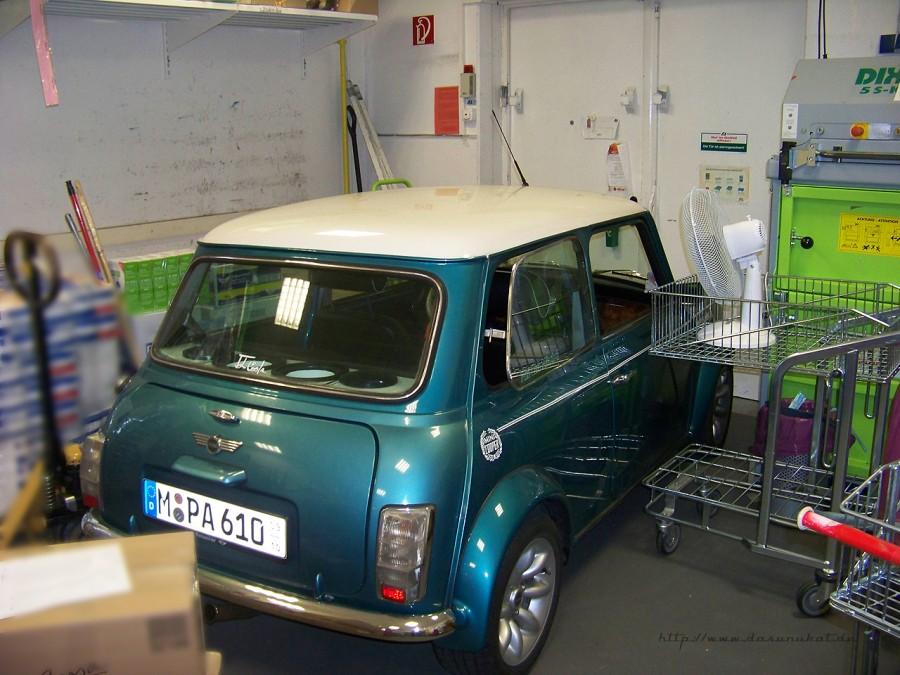 Rover Mini Xn - wird abgekühlt.