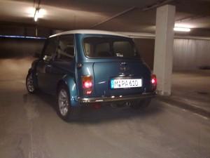 Rover Mini XN MPI geht schlafen 2