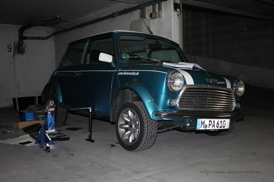 Rover Mini Xn - angehoben!