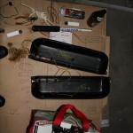 Rover Mini Xn - fertig verlötete Türtaschen