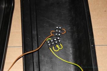 Vorbereite LED-Streifen Anschlüsse