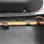 LED-Lichtstreifen an Rover Mini Türtasche