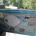 Rover Mini Tür ohne Türpappe