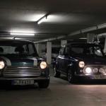 2 Minis in meiner Garage