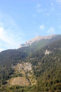 Alpenfahrt Blick ins Tal 2