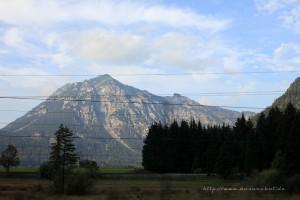 Alpenpanorama Richtung Telfs
