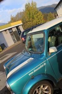 Rover Mini Xn in Reutte- Tankstelle 2
