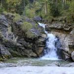 Farchant - Waldlehrpfad Entdeckungen 18 Kuhfluchtwasserfälle