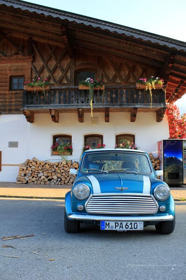 Rover Mini Xn - bei Garmisch
