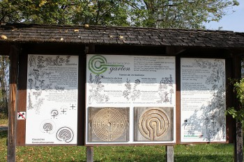 Klostergarten Bendediktbeuren Aufbau