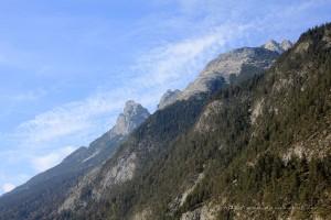 Alpenpanorama Richtung Telfs 2