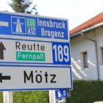 Rover Mini Xn auf der Alpenstrasse 8