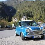 Rover Mini Xn auf der Alpenstrasse 9