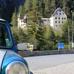 Rover Mini Xn auf der Alpenstrasse 10