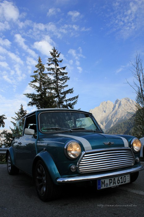 Rover Mini Xn beim Blindsee