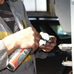 Rover Mini Xn - Bremsklotzreinigung