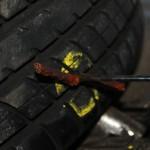 Rover Mini Xn - Reifenflickzeug einziehen 1