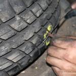 Rover Mini Xn - Reifenflickzeug einziehen 3