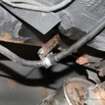 Rover Mini Xn - zusätzliche Auspufffixierung kaputt