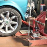 Rover Mini Xn - Spurvermessung 2
