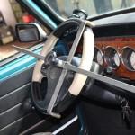 Rover Mini Xn - fixiertes Lenkrad