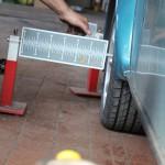 Rover Mini Xn - Spur vermessen hinten 3