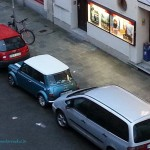 Rover Mini Xn - frisch eingeparkt..