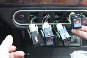 Rover Mini Xn - herausgedrückte Schalter 3