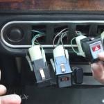 Rover Mini Xn - herausgedrückte Schalter 2
