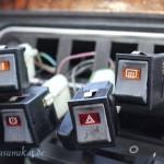 Rover Mini Xn - herausgedrückte Schalter