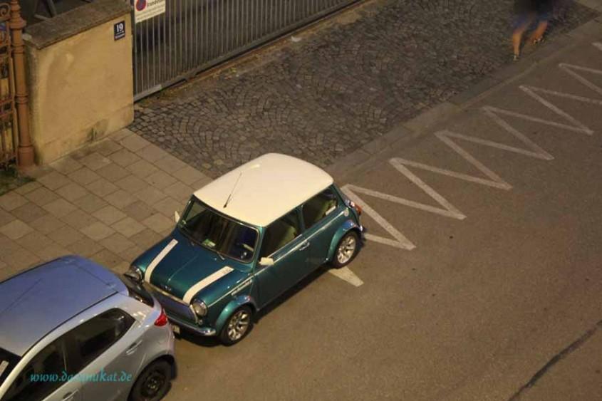 Rover Mini Xn schläft