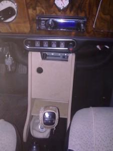 Rover Mini Mittelkonsole Modell 1